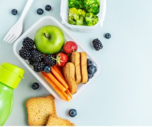 Healthy snacks and lunchboxes